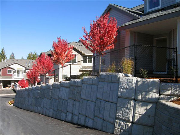 Cantebury Estates Retaining Wall