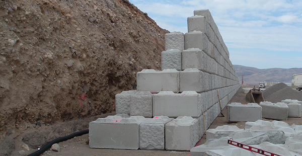 Ultrablock Gravity Walls