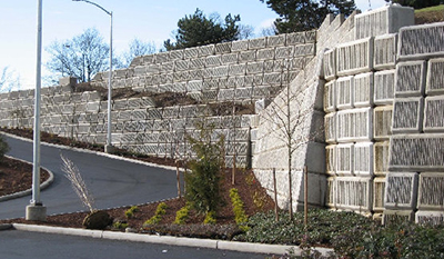 Ultrablock Concrete Blocks Mse Walls Gravity Walls